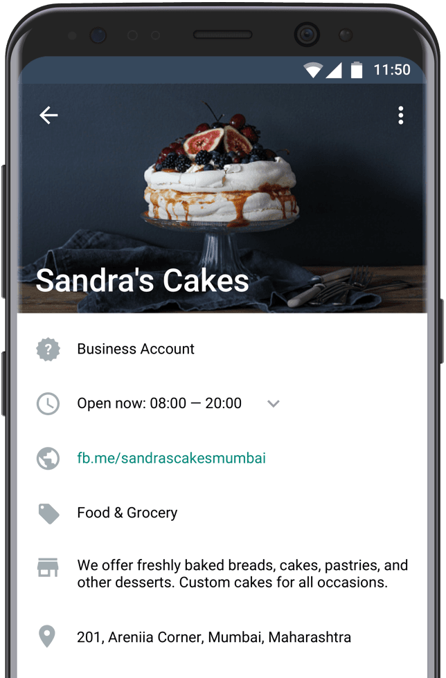 WhatsApp Business: Creating and setting up a business